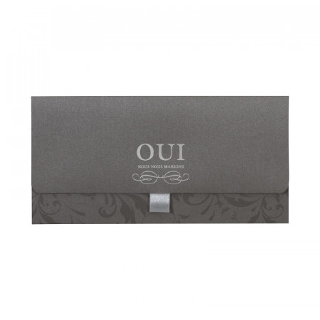 Faire-part pochette arabesques