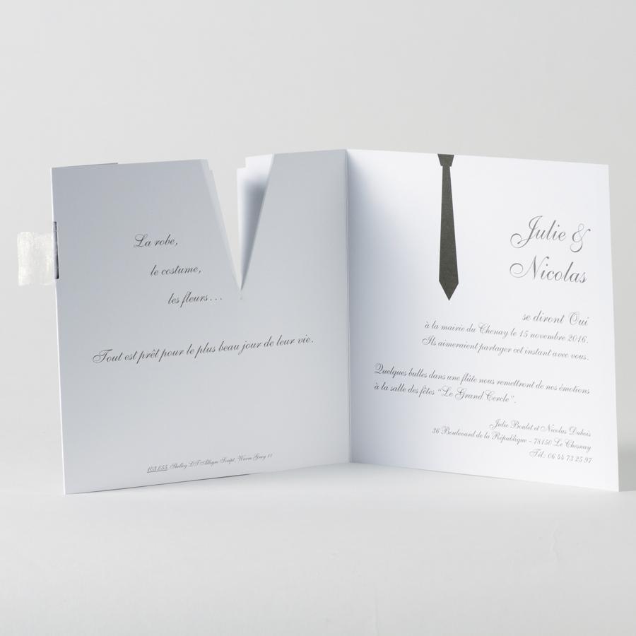 Exceptionnel Faire-part costumes mariés - Evi-créations RG51