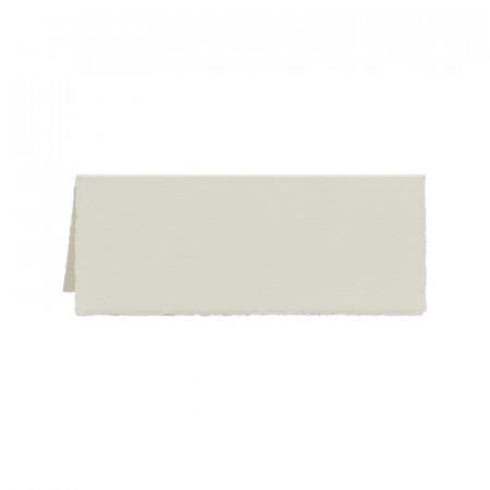 Marque-place ivoire bords déchirés