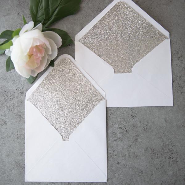 Doublure enveloppes glitter