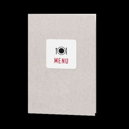 Menu design moderne