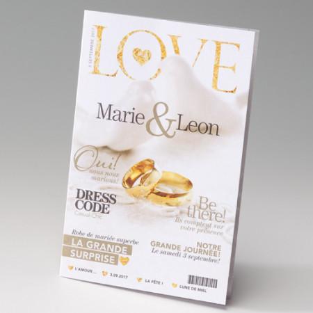 Faire-part magazine